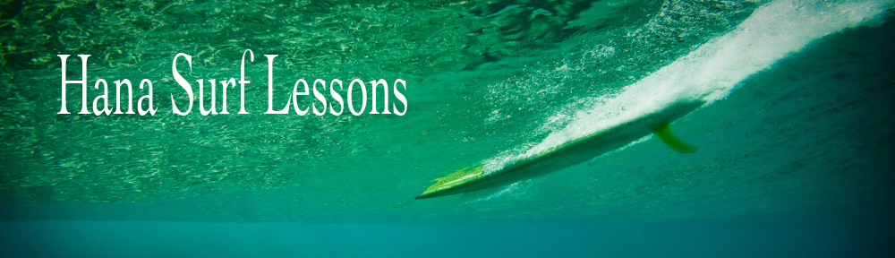 Hana Surf Lessons in Hana Maui